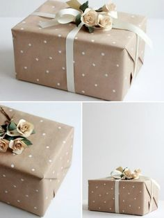 Christmas Gift Wrapping Ideas You'll Definitely Want To Try No Fancy Gift Wrapping Techniques Required For These Stunning Present Wrapping Ideas Christmas Gifts Via Elegant Gift Wrapping Gift Wrapping Present Wrapping, Creative Gift Wrapping, Creative Gifts, Paper Wrapping, Diy Wrapping, Elegant Gift Wrapping, Diy Wedding Wrapping Paper, Bridal Gift Wrapping Ideas, Creative Things