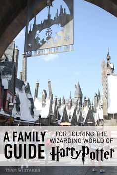 "Visiting the Wizarding World of Harry Potter at Universal Studios and Islands of Adventure? This post shares tips and ideas on how to tour Hogsmeade and Diagon Alley as a family. Ideas on which Ollivanders to visit, things to put on your ""must-do"" list and more! Wands at the ready!"