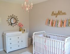 Project Nursery - Pink and Gold Nursery - Project Nursery