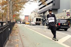 NYC native, Ethik returns for the season with the drop of their Holiday 2015 capsule. The brands' latest offering features a range of seasonal wear by way of anorak parkas paired alongside winter hues and signature Ethik labeling. The holiday lookbook stays true to Ethiks skatewear upbringing and features some serious pizza action while …