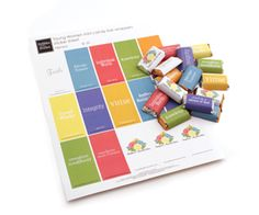 LDS Young Women - Mini Candy Bar wrapper sticker sheets