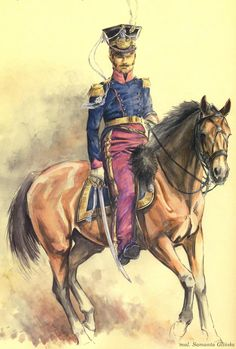 Duchy Of Warsaw; 17th Lancers Officer