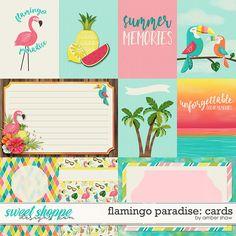 Flamingo Paradise: Cards by Amber Shaw