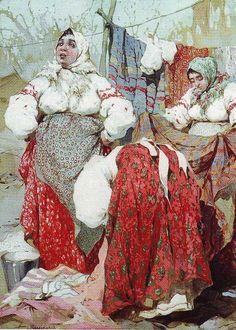 zasu:  Stepan Feodorovich Kolesnikov (Ukrainian, 1879-1955)