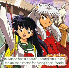 Inuyasha and Kagome Inuyasha Anime, Inuyasha Funny, Inuyasha And Sesshomaru, Inuyasha Fan Art, Kagome And Inuyasha, Kagome Higurashi, Old Anime, Manga Anime, Anime Art
