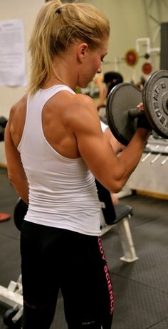 back, shoulders, arms... I wouldn't mind this look, maybe not quite that far, but close. My arms are puny.
