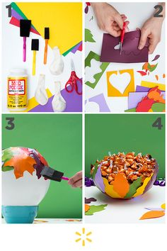 Besides watching scary movies and consuming pumpkin everything, decorating is one of the most fun parts of the fall season. This easy craft is both fun and functional. Want to get started? Click through to learn more!