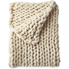 Serena & Lily Henley Wool Throw ($598) ❤ liked on Polyvore featuring home, bed & bath, bedding, blankets, filler, woven blankets, handmade wool blanket, woven throw blanket, handmade blankets and chunky wool blanket