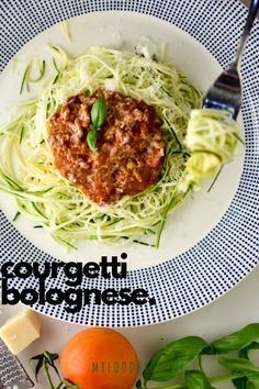 Pasta bolognese healthy Ideas for 2019 Best Pasta Recipes, Beef Recipes, Courgetti Recipe, Atkins, Pasta Bolognese, Spaghetti Bolognaise, Quick Healthy Meals, Healthy Food, Feel Good Food
