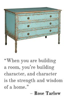 Building character!