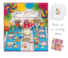 lollipop birthday party, cute!