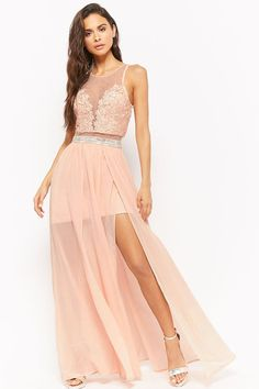 Sheer Sequined Gown | Forever21