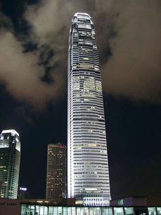Centro financeiro internacional em Hong Kong