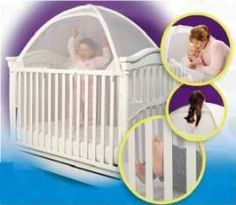 Tots In Mind Cozy Crib Tent II with Inside Surround Net