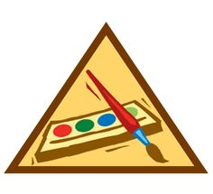 Painting  Brownie - Artist    Artists take what they see and make it beautiful. Learn to paint and color your world in super strokes.    1. Get inspired  2. Paint the real world  3. Paint a mood  4. Paint without brushes  5. Paint a mural    When I've earned this badge, I'll have new ideas about what to paint—and how to paint it.