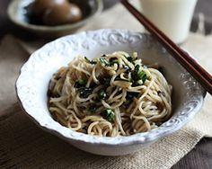 Scallion Oil Noodles - Easy Recipes at RasaMalaysia.com