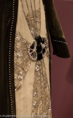 Closeup 1 from Lady Cora's gown