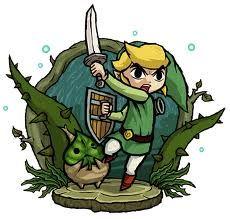 Link and Makar - Wind Waker