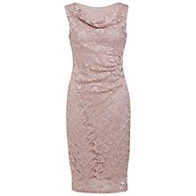 Buy Gina Bacconi Stretch Lace Dress, Champagne Online at johnlewis.com