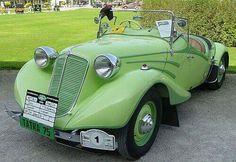Tatra T75 Bohemia Cabriolet - 1935