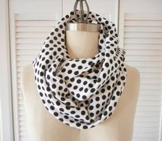 DIY Clothes DIY Refashion: How to make an infinity scarf