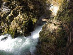 """Soteska Vintgar (Vintgar Gorge alebo Vintgarska roklina) určite """"must see"""" pri nášvteve Bledu alebo blízkeho okolia v Slovinsku, hlavne teraz na jeseň, keď to všetko hrá farbami"""