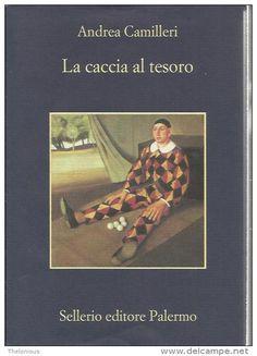 "Andrea Camilleri ""La caccia al tesoro"" Selerio n. 820"