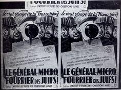 1942 03 Affiche Le Vrai Visage De La France Libre Tracts Et Affiches 1939-1945