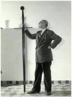 The zweihänder sword that belonged to Grutte Pier (1480-1520), Friesian pirate and warlord. via Medium Aevum FB