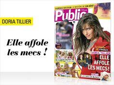 Cette semaine en couverture de Public Doria Tillier : la bombe de Canal + qui affole les mecs !