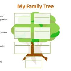 8 best downloadable blank family tree charts images on pinterest
