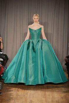 Zac Posen AW14, New York Fashion Week