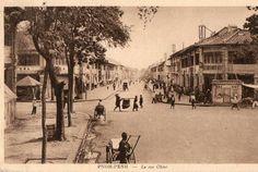 La Rue Ohier in Phnom Penh, perhaps in the 1800s? #phnompenh #phnompenh1800 #khmerhistory #cambodiahistory #khmerphoto #cambodiaphoto
