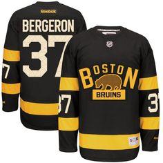 f818fd1d4c1 Patrice Bergeron Boston Bruins Reebok Alternate Premier Jersey - Black