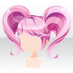 (Hairstyle) Heart Twin Tails Hair ver.A pink.jpg