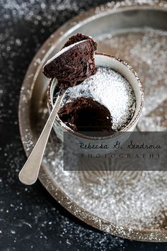 dark chocolate black tea and spice mug cake