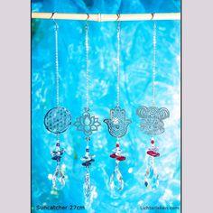 Sonnenfänger für Zimmerfenster 27cm wirkungsvolle Lichtreflexe im Raum #lichterleben Yoga Studio Design, Yoga Inspiration, Third Eye, Ayurveda, Meditation, Suncatcher, Yoga Lifestyle, Dream Catcher, Boho