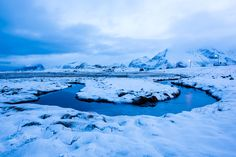 the curve - small river on a field by fredvang on the lofoten Lofoten, River, Norway, Outdoor, Outdoors, Outdoor Games, Outdoor Life, Rivers