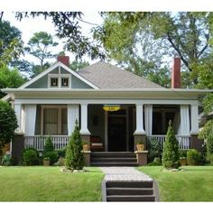 Bungalow Exterior Design Ideas, Pictures, Remodel and Decor
