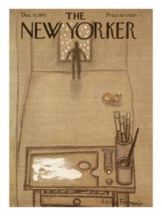 The New Yorker Cover - December 11, 1971 Poster Print by Andre Francois at the Condé Nast Collection