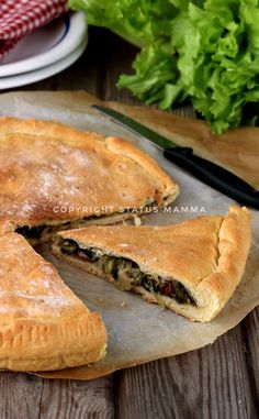 Ricetta pizza di scarola napoletana food photograpy carnevale