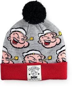 73c9381d167 DGK x Popeye Pom Beanie
