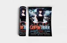 """Gothic Holic Flyer Template Features • Size: 1275×1875px (4×6"""") Bleeds 0.25"""" • Fully editable + Full layered • Photoshop Version: CS5 or Higher • Resolution: 300dpi • CMYK Colors Notes • Model not included in download file. #abstract #art #asian #background #banner #baroque #black #card #cartoon #celebration #ciusan #cover #creepy #damask #dark #deciduous #decor #decoration #design #flower #flyer #gothic #graphic #grunge #halloween #holiday #horror #house #illustration #ink #luxury #modern Horror House, House Illustration, Black Card, Background Banner, Print Templates, Flyer Template, Damask, Creepy, Gothic"""