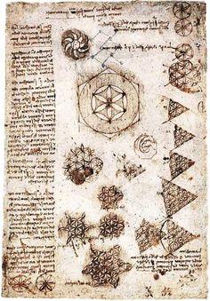 La flor de la vida de Leonardo da Vinci. | Matemolivares