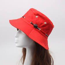 Resultado de imagen para como hacer sombreros de tela para el sol