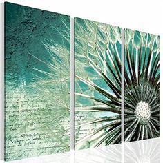 Bilder & Kunstdrucke Prestigeart, 2066328b Bild auf Leinwand, Pusteblume, 90 x 60 cm, 3 Teile, Blumen prestigeart http://www.amazon.de/dp/B010AZWES0/ref=cm_sw_r_pi_dp_.nlRwb0ZA3QSG