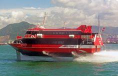 Turbojet Cacilhas, image courtesy Danial Case/wikipedia  Hydrofoiling Ferry Crashes into Breakwater in Macau, 70 Injured