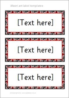 FREE editable classroom drawer and cupboard resource label templates. Classroom Labels, Classroom Organisation, Classroom Displays, Art Classroom, School Resources, Teacher Resources, Waitangi Day, Maori Words, Maori Patterns