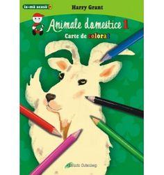 Animale domestice 1 - carte de colorat Plastic Cutting Board