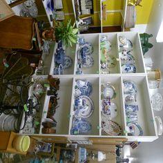 Inside Antique Shop Lavenham, UK